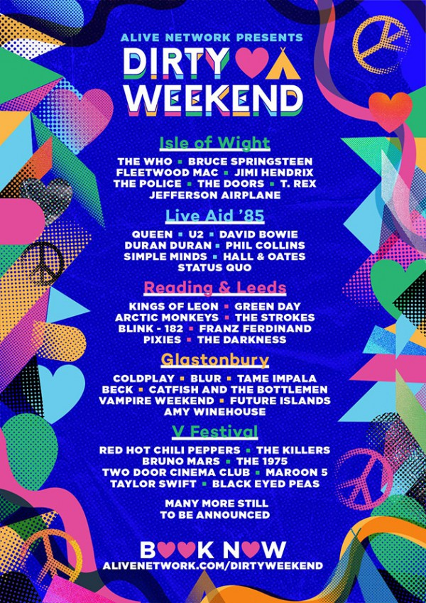Dirty Weekend Repertoire